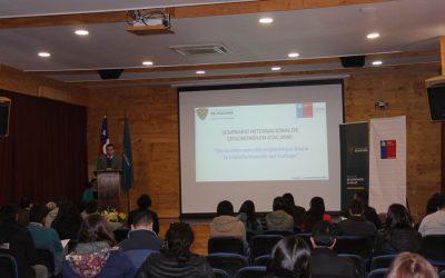 Realizaron Seminario Internacional de Ergonomía en la Universidad de Atacama