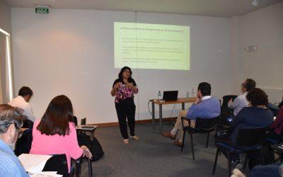 """Academicos del programa de ergonomia de la UDA realizaron Seminario Internacional """"Ergonomía, Sustentabilidad y Desarrollo"""""""