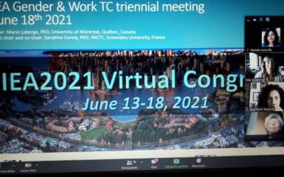 Académicos Participan en 21ts Triennial Congress of the International Ergonomics Association,Vancouver 2021