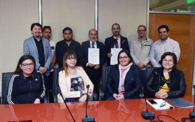 UDA firmó Convenio con Universidad de São Paulo para el intercambio de Académicos y Estudiantes