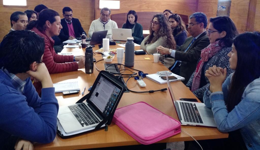 La Facultad realizó socialización directiva de los avances en autoevaluación