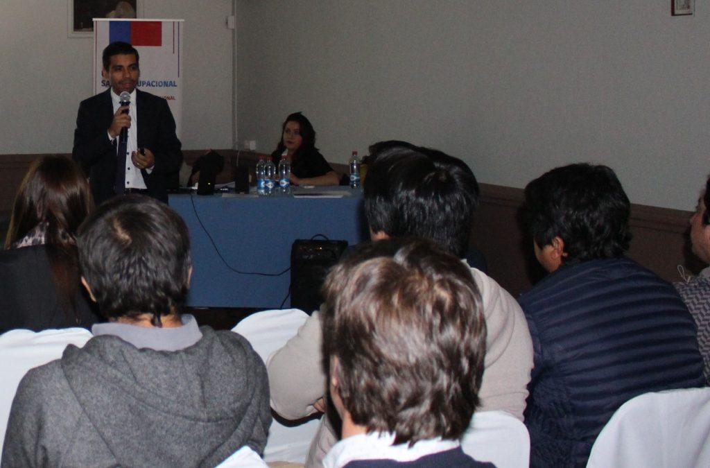 Decano de la Facultad de Ciencias de la Salud de la UDA expuso en seminario del Gobierno de Chile