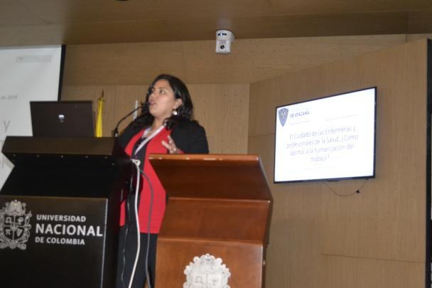 Académica de la UDA participa en visita de colaboración internacional en el ámbito de Ergonomía y Salud en el Trabajo en Colombia