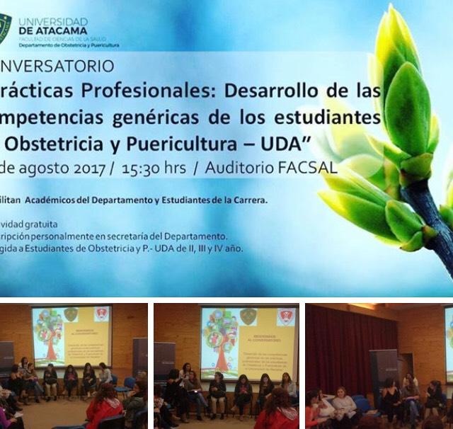 EXITOSO CONVERSATORIO EN COMPETENCIAS GENÉRICAS Y PRÁCTICAS PROFESIONALES DESARROLLARON ESTUDIANTES DE LA CARRERA DE OBSTETRICIA Y PUERICULTURA