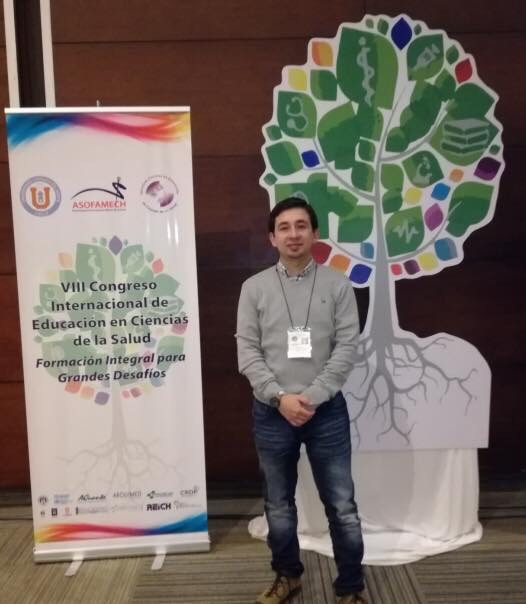 SUBDIRECTOR DEL DEPARTAMENTO DE OBSTETRICIA Y PUERICULTURA PARTICIPA EN VIII CONGRESO INTERNACIONAL DE EDUCACIÓN EN CIENCIAS DE LA SALUD