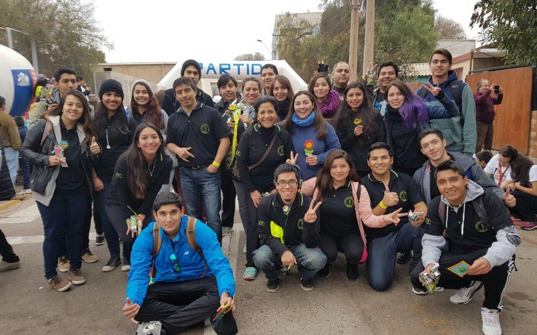Universidad de Atacama participó de la corrida familiar inclusiva 50 años