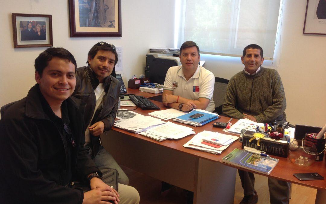 Con éxito se realizó reunión de cooperación entre el IND y el Departamento de Kinesiología de la UDA