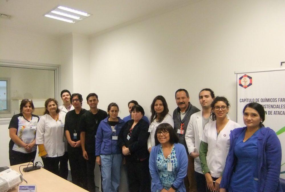 ESTUDIANTES DE KINESIOLOGÍA FINALIZAN CON ÉXITO PRIMERAS ROTATIVAS DE SALUD OCUPACIONAL EN EL HOSPITAL REGIONAL DE COPIAPO