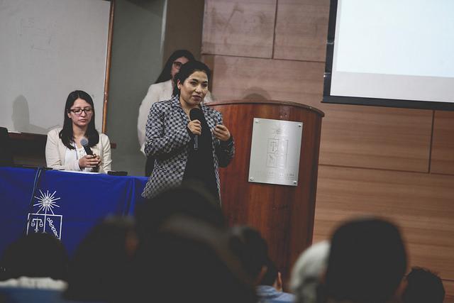 Académica de la Facultad de Ciencias de la Salud expuso en II Congreso Nacional de Rehabilitación Comunitaria