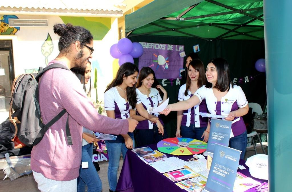 Para eliminar mitos promueven Lactancia Materna en la Universidad de Atacama