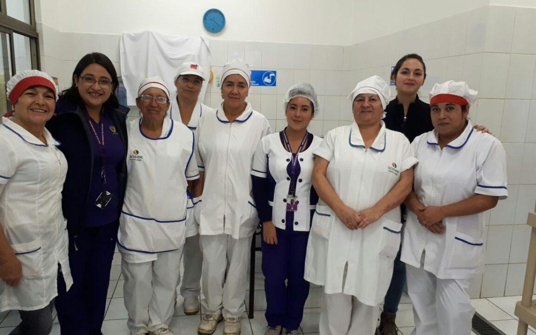 Departamento de Nutrición y Dietética dio inicio a Prácticas Profesionales en colegio de Capiapó