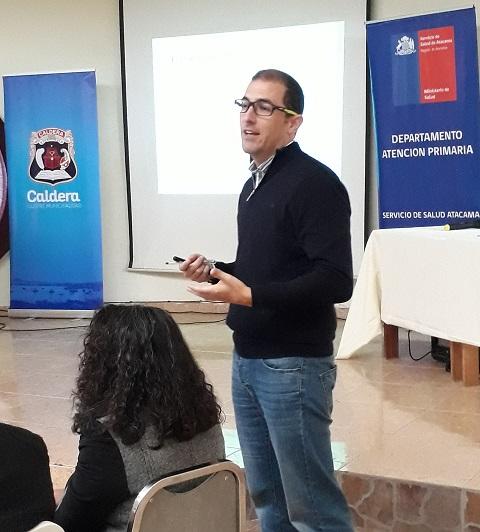 Participación Departamento de Nutrición y Dietética en II Jornada de Prevención de Enfermedades Crónicas no Transmisibles, Programa Vida Sana Región de Atacama.