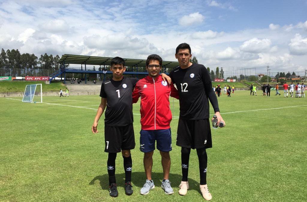 Académico de la Facultad de Ciencias de la Salud participa en Copa América de Fútbol 7 Paralímpico Ecuador 2018.