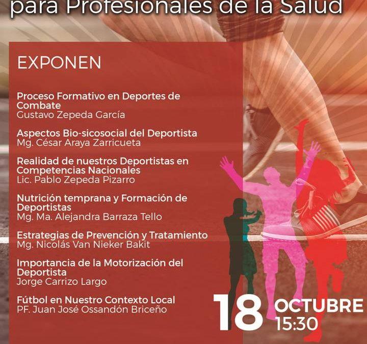Primera Jornada de Actividad Física y Deportes para Profesionales de la Salud