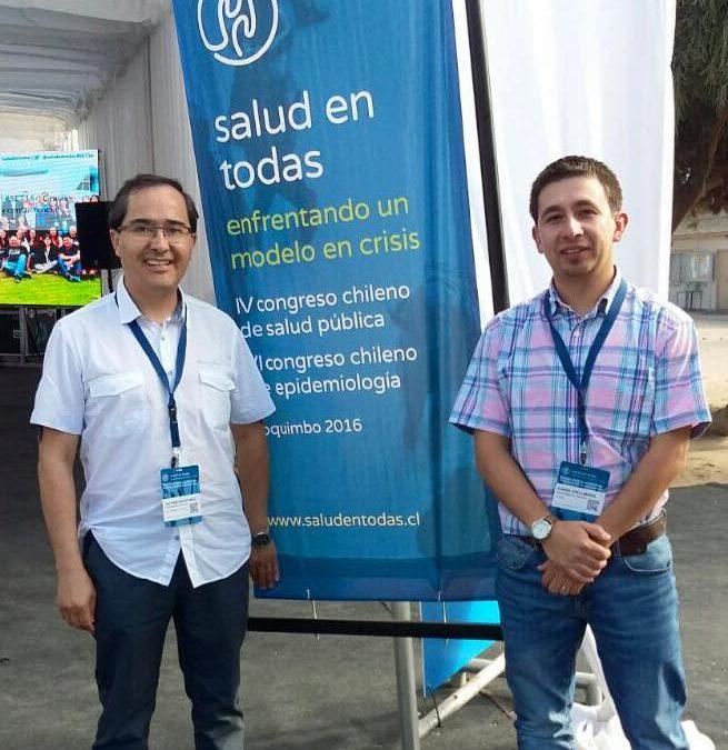 ACADÉMICOS DEL DEPARTAMENTO OBSTETRICIA-UDA PARTICIPAN EN CONGRESO NACIONAL DE SALUD PÚBLICA Y EPIDEMIOLOGIA