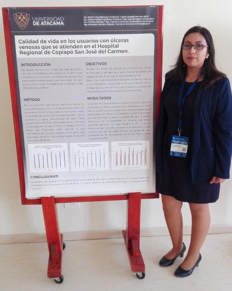 Alumnas de UDA exponen en prestigiosos Congresos de Salud