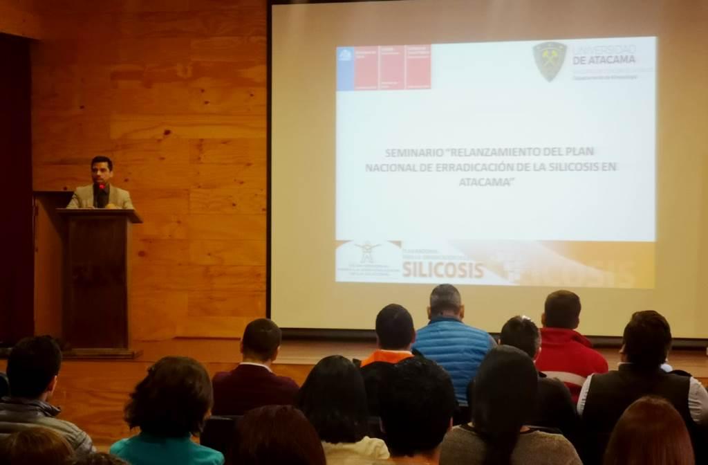 Seminario abordó necesidad de erradicar la Silicosis en Atacama