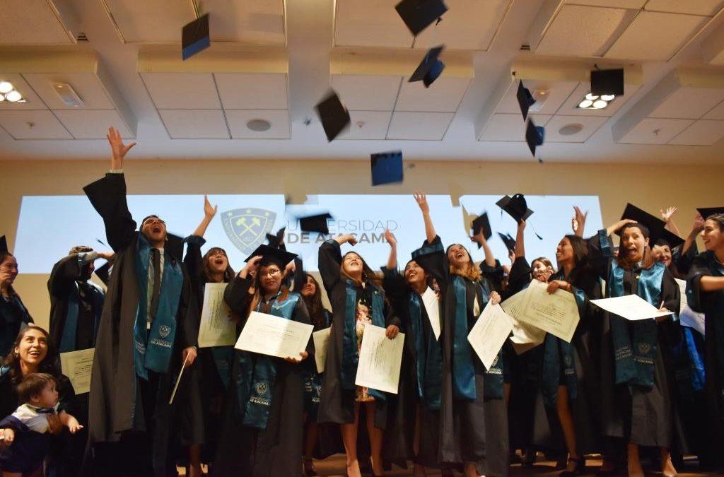 Facultad de Ciencias de la Salud de la UDA tituló a nuevos profesionales