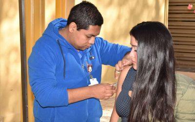 Continúa Campaña de Vacunación en los Campus Norte y Cordillera de la Universidad.