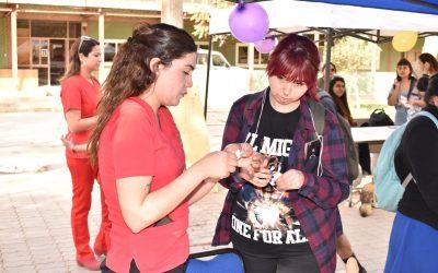 Estudiantes participaron en Fiesta de la Prevención realizada por Unidad de Inclusión y Equidad Educativa.