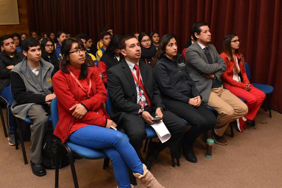 Más de un centenar de liceanos copiapinos asistieron a la Facultad Abierta FACSAL 2019