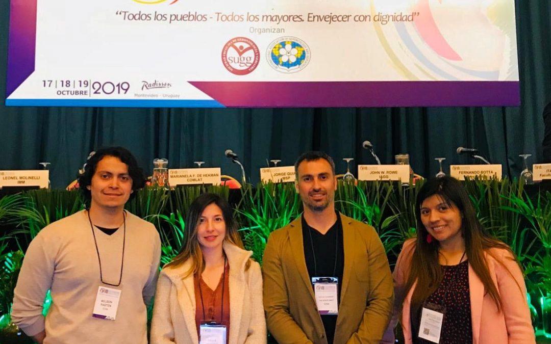 Académicos del Departamento de Kinesiología expusieron en Congreso Latinoamericano de Gerontología y Geriatría