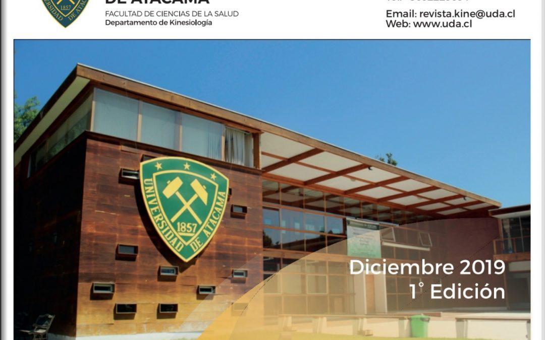 Departamento de Kinesiología lanzó revista informativa en formato electrónico