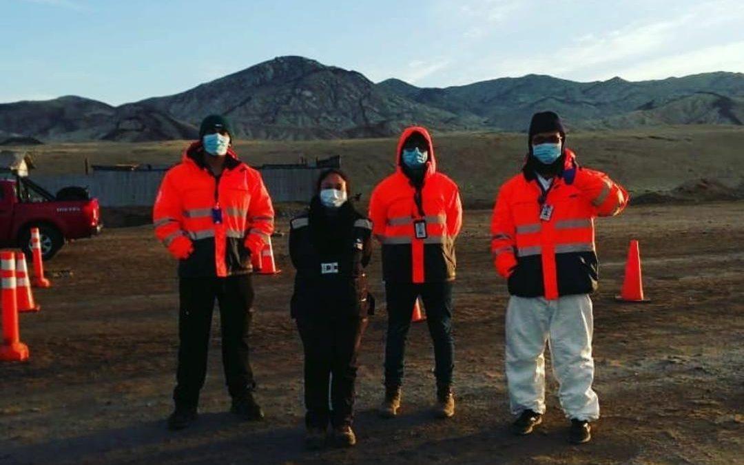Egresados de Kinesiología trabajan en Aduanas Sanitarias de la Región de Atacama