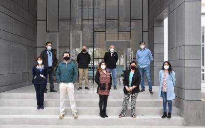 Rector y Directivos Superiores realizan visita técnica al nuevo Centro Universitario Promotor en Salud