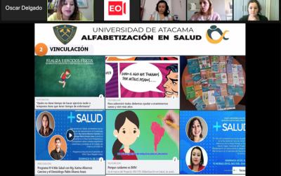 Proyecto de Alfabetización en Salud realizó primer webinar en conjunto con la Universidad de Girona