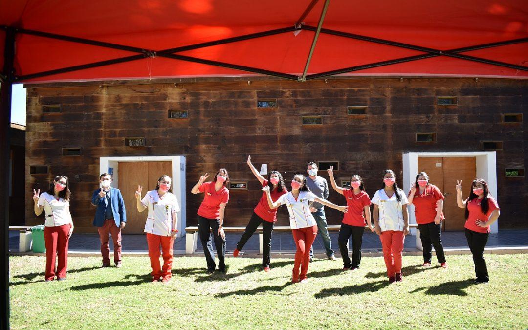 Estudiantes de Obstetricia y Puericultura conforman agrupación Q'umara para apoyar a la comunidad en temas de salud